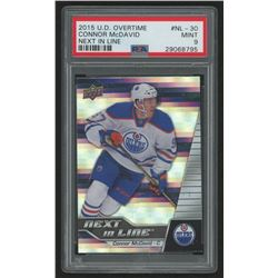 2015-16 Upper Deck Overtime Next in Line #NL30 Connor McDavid