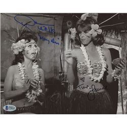 "Dawn Wells  Tina Louise Signed ""Gilligan's Island"" 8x10 Photo Inscribed ""Mary Ann"" (Beckett COA)"