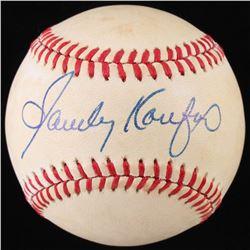 Sandy Koufax Signed ONL Baseball (JSA LOA)