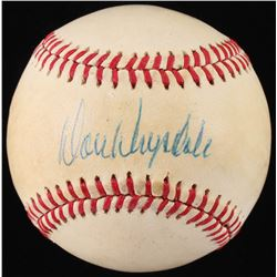 Don Drysdale Signed ONL Baseball (JSA LOA)