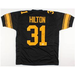 Mike Hilton Signed Steelers Color Rush Jersey (TSE COA)