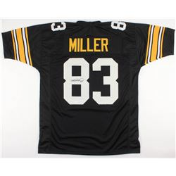 Heath Miller Signed Steelers Jersey (TSE Hologram)