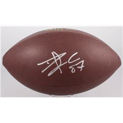 Travis Kelce Signed NFL Football (JSA COA)
