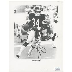 Walter Payton Signed Bears 7x9 Photo (JSA COA)