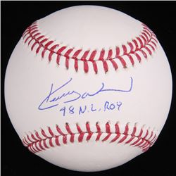 "Kerry Wood Signed OML Baseball Inscribed ""98 NL ROY"" (Schwartz COA)"