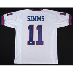 Phil Simms Signed Giants Jersey (JSA COA)