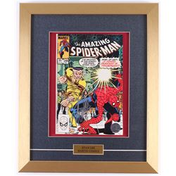 "Stan Lee Signed 1963 ""The Amazing Spiderman"" Issue #246 14x17 Custom Framed Marvel Comic Book"