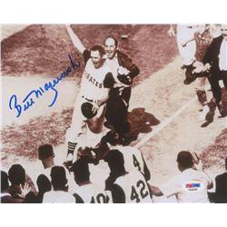 Bill Mazeroski Signed Pirates 8x10 Photo (PSA COA)