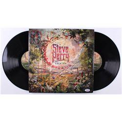 "Steve Perry Signed ""Traces"" Vinyl Record Album (PSA COA)"