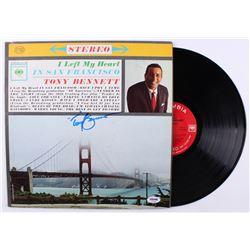 "Tony Bennett Signed ""I Left My Heart in San Francisco"" Vinyl Record Album (PSA COA)"