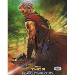 "Chris Hemsworth Signed ""Thor: Ragnarok"" 8x10 Photo (PSA COA)"
