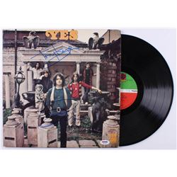 """Jon Anderson  Tony Kaye Signed """"Yes"""" Vinyl Record Album (PSA COA)"""