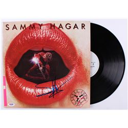 "Sammy Hagar Signed ""Three Lock Box"" Vinyl Record Album (PSA COA)"