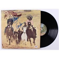 "Tom Johnston  Patrick Simmons Signed ""Stampede"" Vinyl Record Album (PSA COA)"