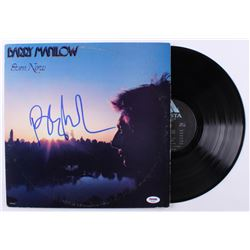 "Barry Manilow Signed ""Even Now"" Vinyl Record Album (PSA COA)"