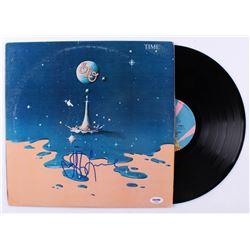 "Jeff Lynne Signed ""Time"" Vinyl Record Album (PSA COA)"