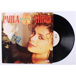 "Paula Abdul Signed ""Knocked Out"" Vinyl Record Album (PSA COA)"