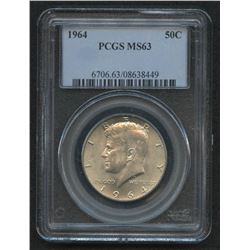 1964 Kennedy Half Dollar (PCGS MS 63)