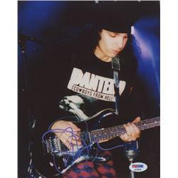 "Joe Satriani Signed ""Pantera"" 8x10 Photo (PSA COA)"