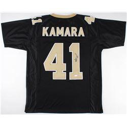 Alvin Kamara Signed Saints Jersey (JSA COA)