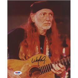 Willie Nelson Signed 8x10 Photo (PSA COA)
