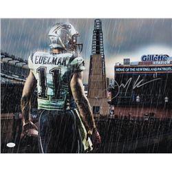 Julian Edelman Signed Patriots 16x20 Photo (JSA COA)