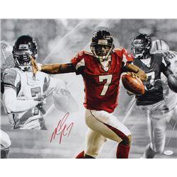 Michael Vick Signed Falcons 16x20 Photo (JSA COA)