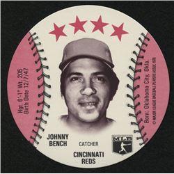 1976 Isaly Discs #2 Johnny Bench
