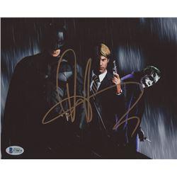 "Aaron Eckhart Signed ""Batman"" 8x10 Photo (Beckett COA)"