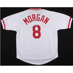 """Joe Morgan Signed Reds Jersey Inscribed """"HOF '90"""" (JSA COA)"""