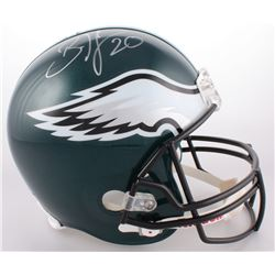 Brian Dawkins Signed Eagles Full-Size Helmet (JSA COA  Sports Vault COA)