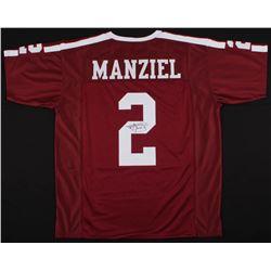 Johnny Manziel Signed Texas AM Aggies Jersey (JSA COA)