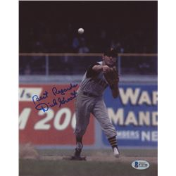 "Dick Groat Signed Pirates 8x10 Photo Inscribed ""Best Regards"" (Beckett COA)"