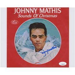 Johnny Mathis Signed 8x10 Photo (JSA COA)