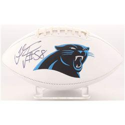 Thomas Davis Signed Panthers Logo Football (Radtke COA)