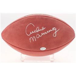Archie Manning Signed Official NFL Game Ball (Radtke Hologram)