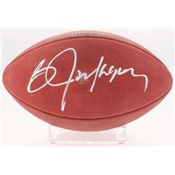 """Bo Jackson Signed """"The Duke"""" Official NFL Game Ball (Radtke COA)"""