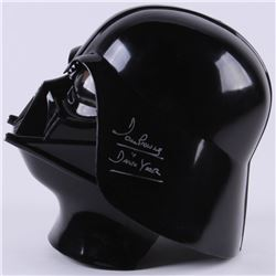 Dave Prowse Signed Star Wars  Darth Vader  Mask Inscribed  Darth Vader  (JSA COA)