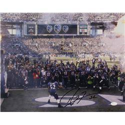 Ray Lewis Signed Ravens 16x20 Photo (JSA COA)