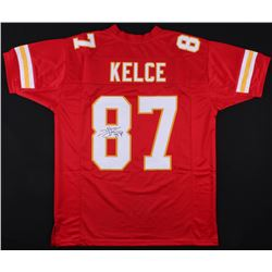 Travis Kelce Signed Chiefs Jersey (JSA COA)