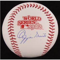 Ozzie Smith Signed 1982 World Series Baseball (Schwartz COA)