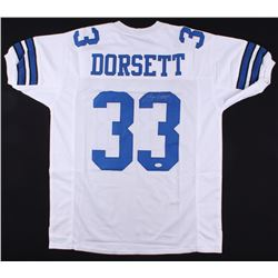 Tony Dorsett Signed Cowboys Jersey (JSA COA)