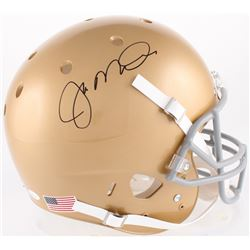 Joe Montana Signed Notre Dame Fighting Irish Full-Size Helmet (JSA COA  Montana Hologram)