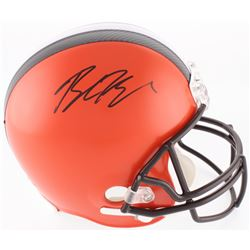Baker Mayfield Signed Browns Full-Size Helmet (Beckett COA)