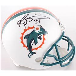 Ricky Williams Signed Dolphins Full-Size Helmet (JSA COA)