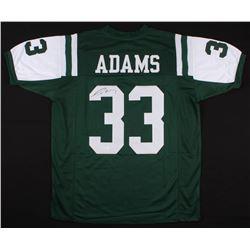 Jamal Adams Signed Jets Jersey (JSA COA)