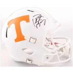 Peyton Manning Signed Tennessee Volunteers Full-Size Speed Helmet (Fanatics Hologram)