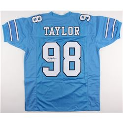 Lawrence Taylor Signed North Carolina Tar Heels Jersey (JSA COA)