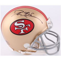 Deion Sanders Signed 49ers Mini-Helmet (JSA COA)
