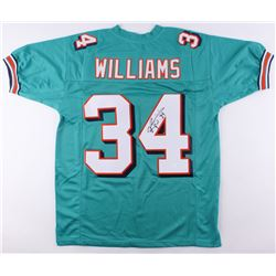Ricky Williams Signed Dolphins Jersey (JSA COA)